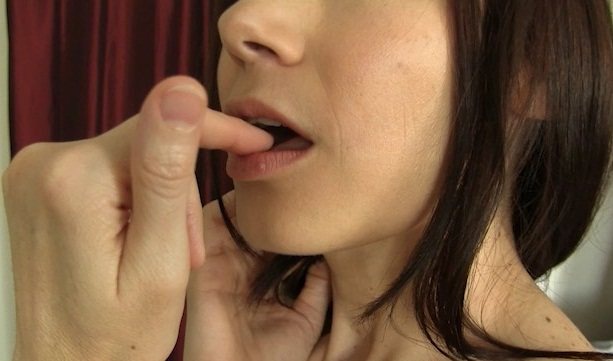 Masturbation instruction cum eating instruction